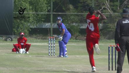 ICC U19 CWC Asia Qualifier Division 2: Oman opening bowler Yash Mehta takes 3 wickets in his first spell