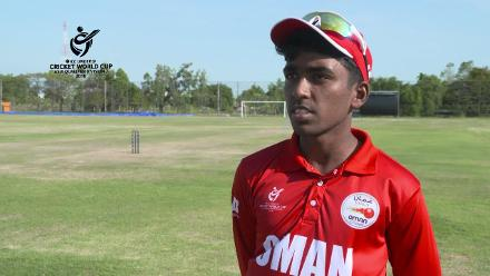 ICC U19 CWC Asia Qualifier Division 2: Interview with Oman captain