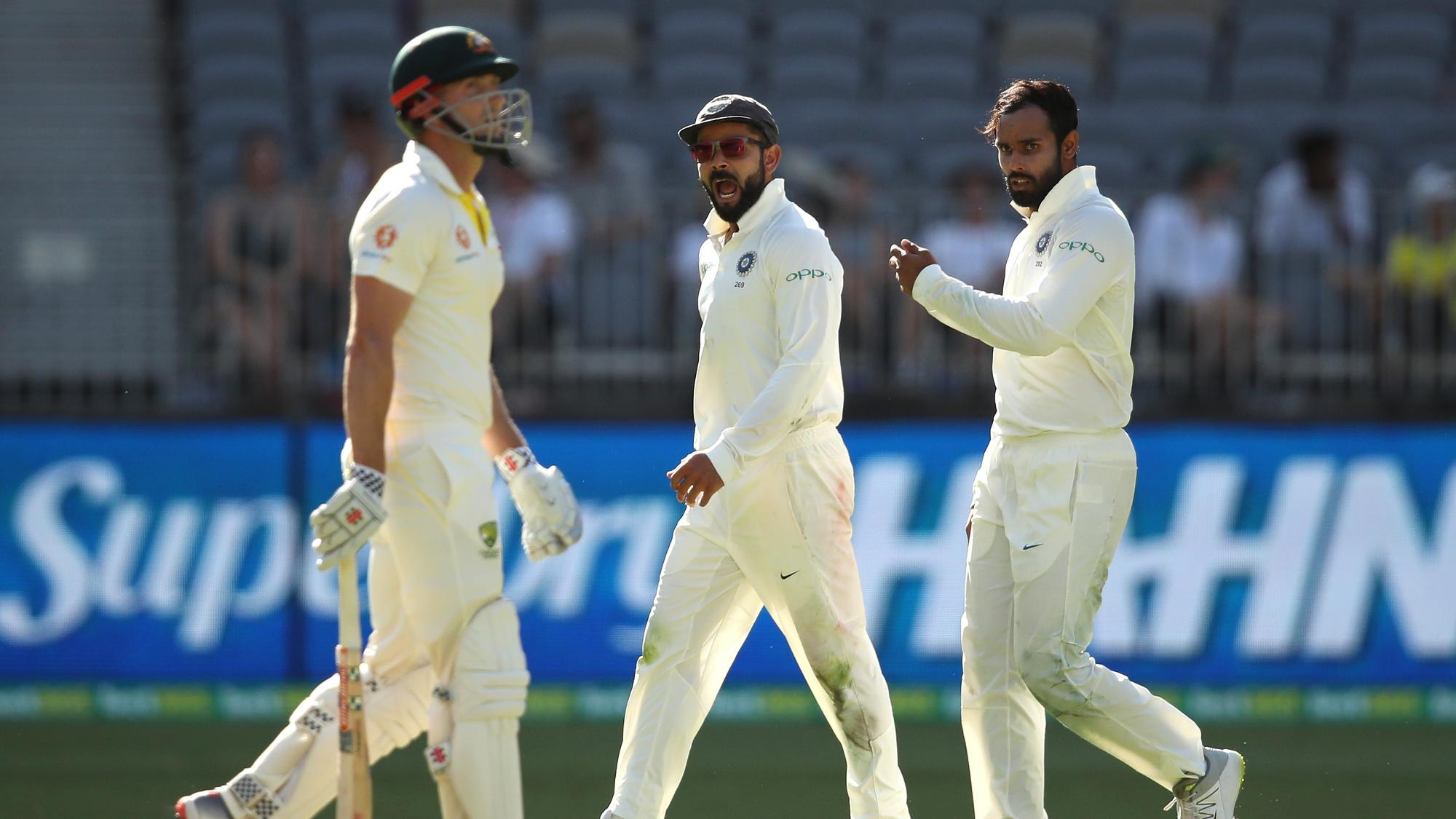India fight back after Australia start well