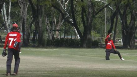 ICC U19 CWC Asia Qualifier Division 2: Sharp catch by Mehran Zeb ends Oman's innings at 130