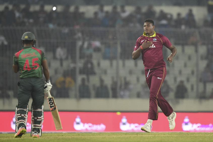 Thomas claimed four scalps in two ODIs against Bangladesh