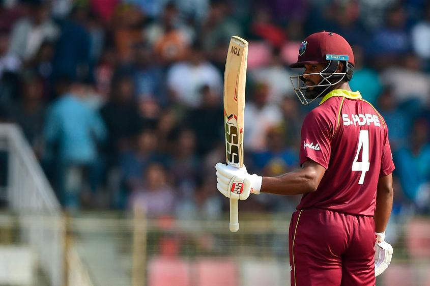 Shai Hope was the stand-out batsman with two hundreds