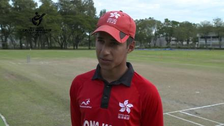 ICC U19 CWC Asia Qualifier Division 2: Hong Kong captain speaks before the semi-final against Oman