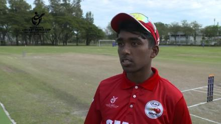 ICC U19 CWC Asia Qualifier Division 2: Oman captain speaks before the semi-final against Hong Kong