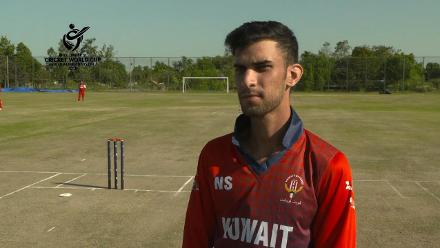 ICC U19 CWC Asia Qualifier Division 2: Kuwait captain speaks before the final against Oman