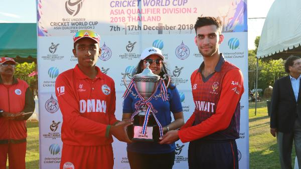 Oman and Kuwait share trophy as final is tied