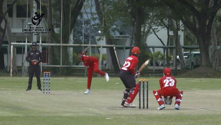ICC U19 CWC Asia Qualifier Division 2: Hong Kong's Abdul Urslan hits 22* from No.10