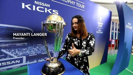 ICC #CWCTrophyTour driven by Nissan Kicks lands in Bangalore