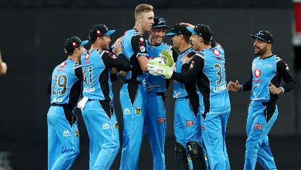 However, Strikers bowled with discipline to restrict Heat to 146 all-out