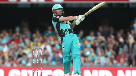 He started well, top-scoring with the strikers with a 20-ball 33