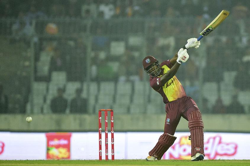 Rovman Powell's knock briefly gave West Indies hope