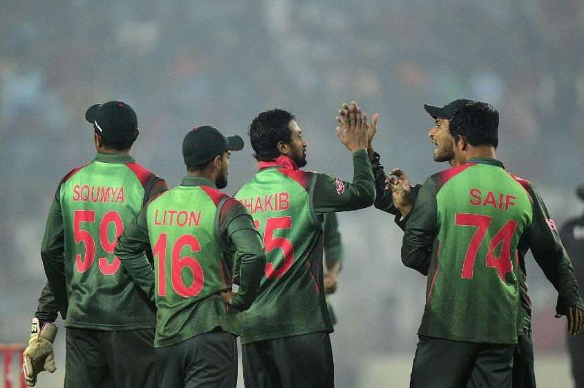 Shakib claimed five wickets