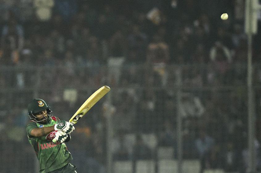 Liton Das gave Bangladesh a fast start
