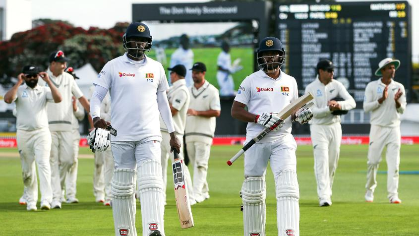 Mathews-Mendis batted for the whole of day four without being separated