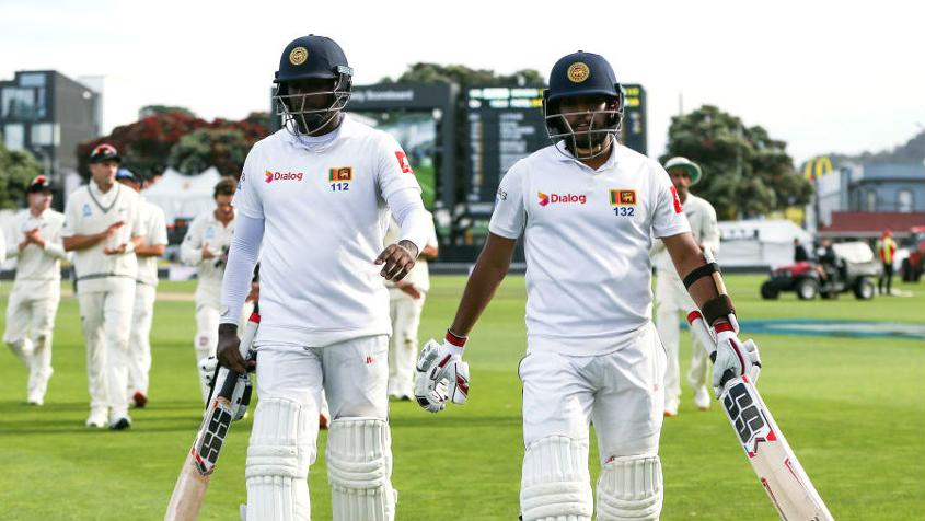 Angelo Mathews and Kusal Mendis were the stars of Sri Lanka's defiance in the first Test