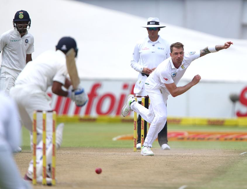 Dale Steyn is set to become South Africa's leading wicket-taker in Test cricket