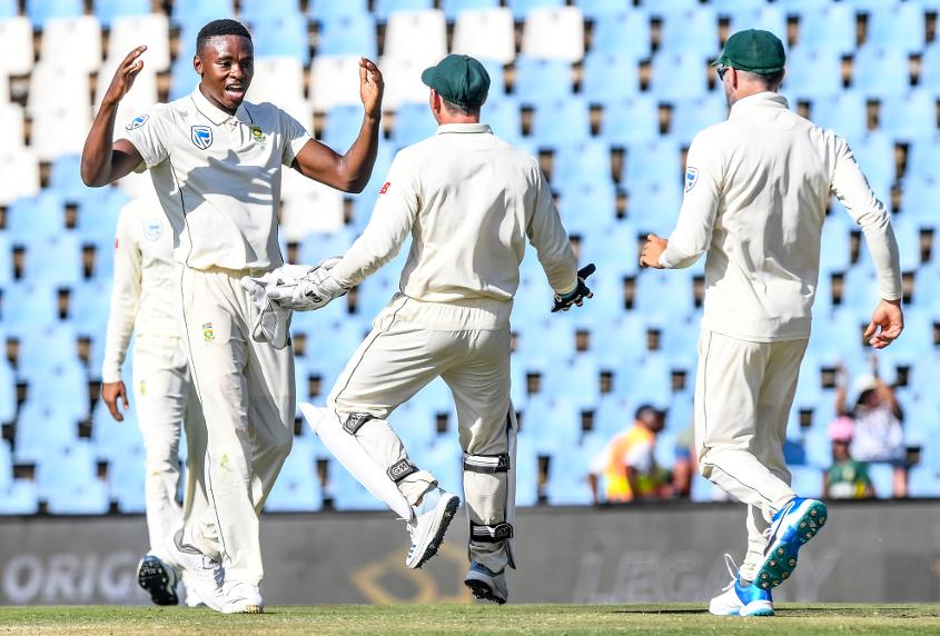 Rabada served up an excellent spell to see off Pakistan's middle-order