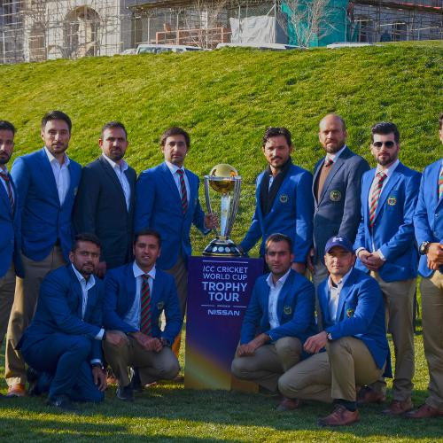 ICC CWC Trophy Tour driven by Nissan (Afghanistan): Darulaman Palace