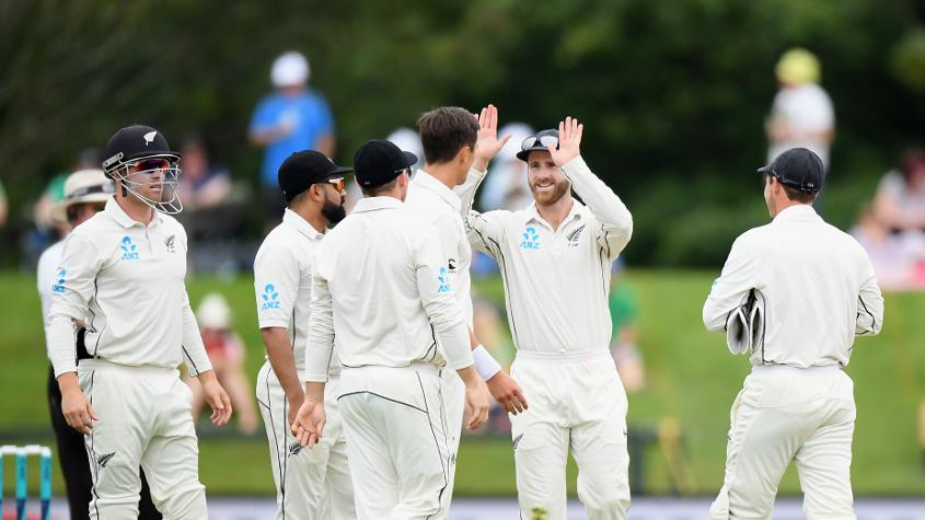 There are three New Zealand players in the ICC Test Team of the Year