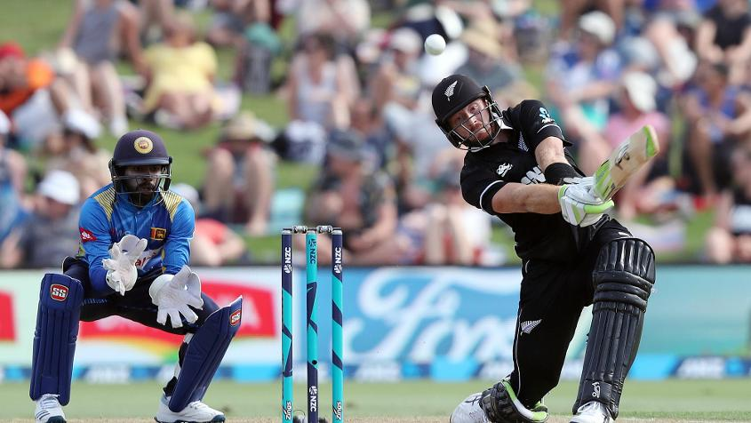 Guptill starred with a magnificent 138 at the top of the order