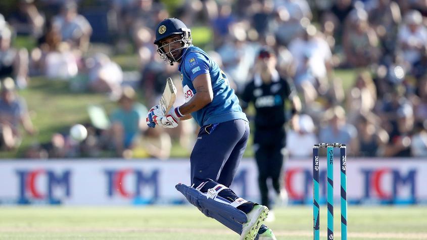 Gunathilaka led Sri Lanka's charge with an impressive 71