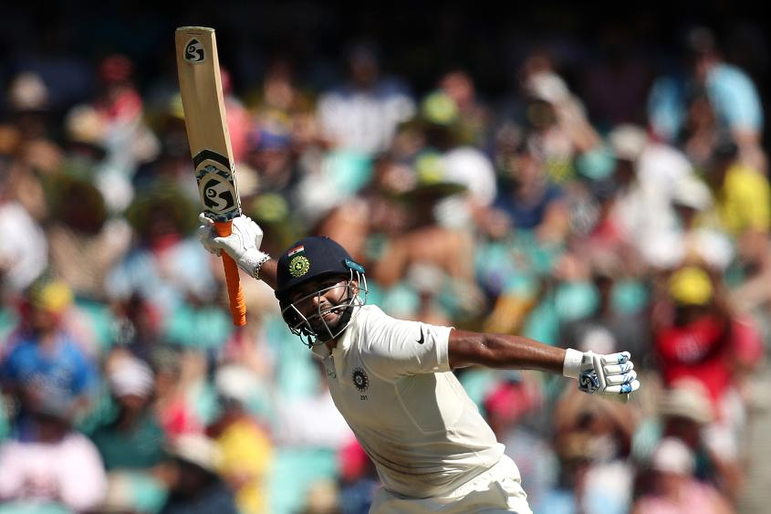 Pant scored 350 runs in seven innings against Australia