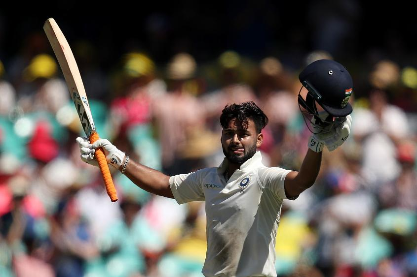 India's Rishabh Pant was named ICC Emerging Player of the Year