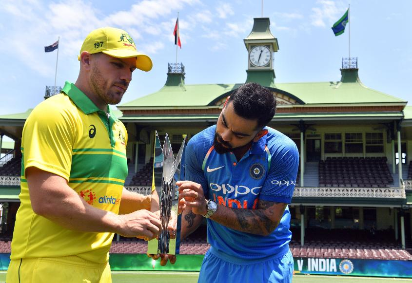Australia and India will play three ODIs in Sydney, Adelaide and Melbourne