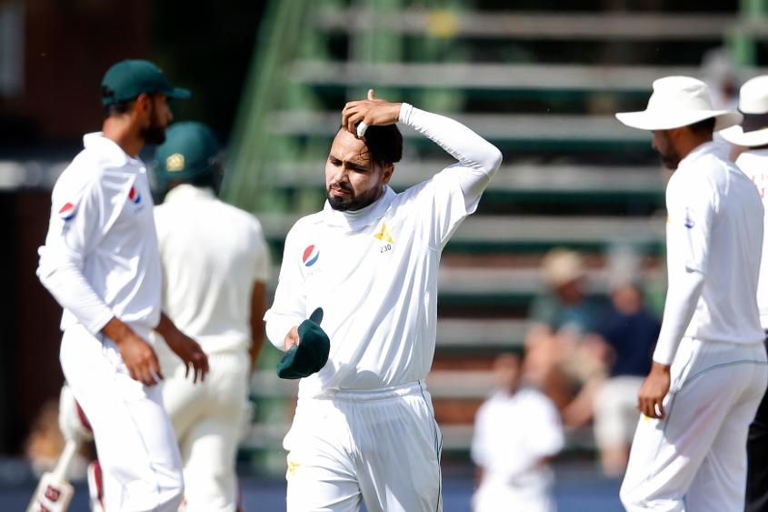 Faheem Ashraf claimed two wickets in an over, but Pakistan were unable to sustain the pressure