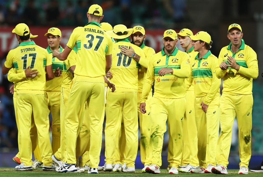 Australia took a 1-0 lead in the three-match series