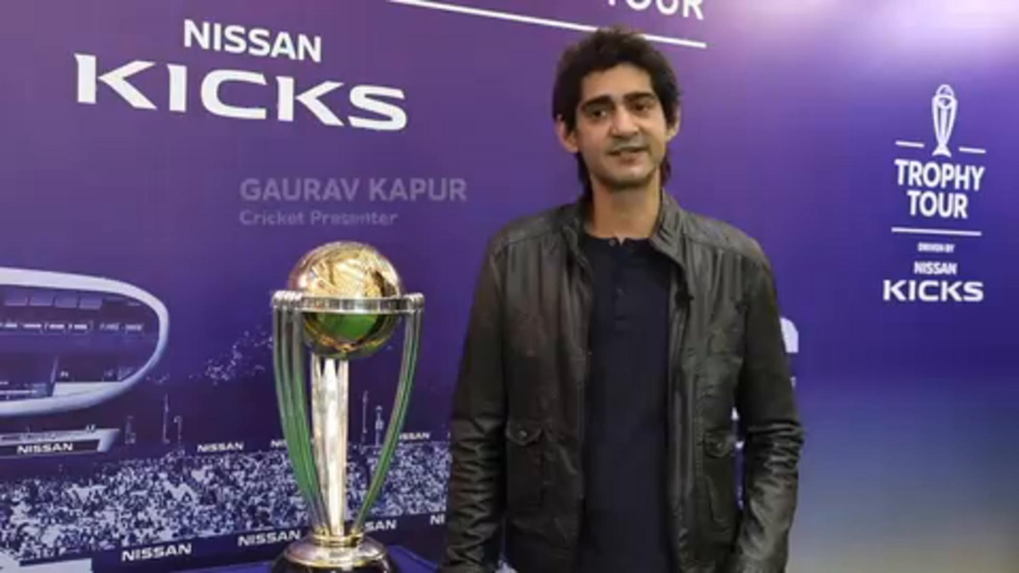 ICC CWC Trophy Tour driven by Nissan Kicks – India