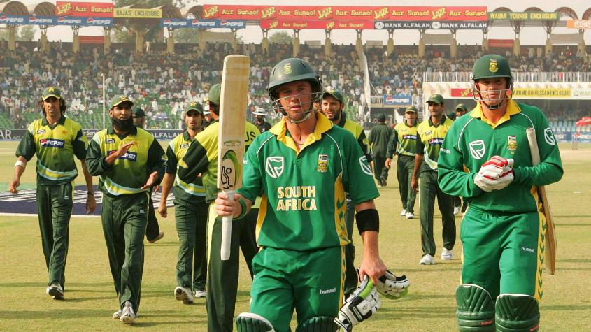 De Villiers has previously been to Pakistan for a tour with South Africa way back in 2007
