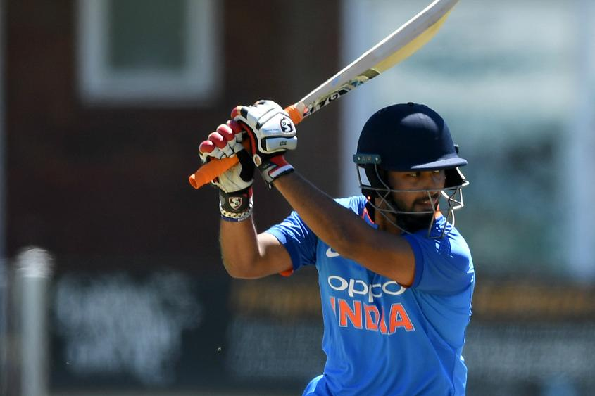 Shankar blasted a 28-ball 33 in the third T20I