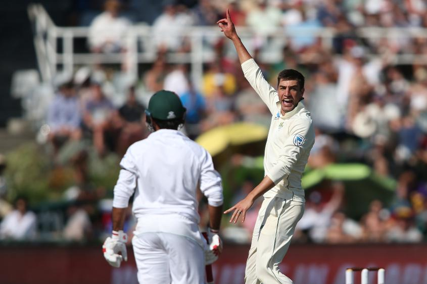 Duanne Olivier's 24 wickets in the series put him in the top 25 of the rankings