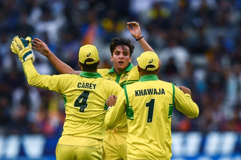 Jhye Richardson snared the big wicket of Virat Kohli