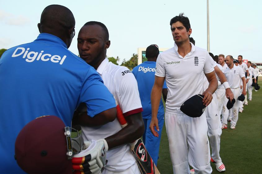 The Windies drew the three-Test series against England 1-1 by winning the final Test in Bridgetown in 2015