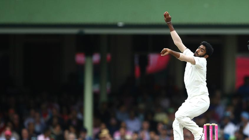 Bumrah picked up 49 wickets from 10 Tests in 2018