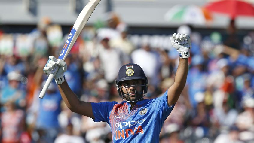 Rohit Sharma scored 1030 runs from 19 innings at an average of 73.57