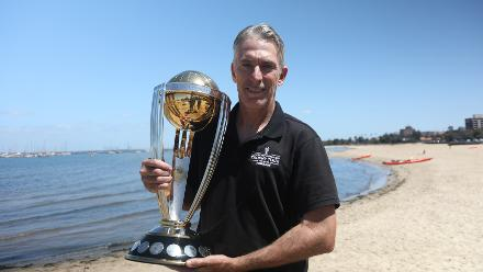 ICC Cricket World Cup Trophy Tour, driven by Nissan reaches Melbourne