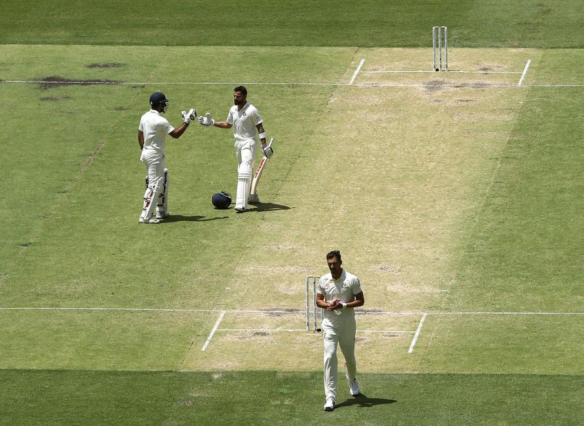 Virat Kohli triumphed on a menacing pitch in Perth