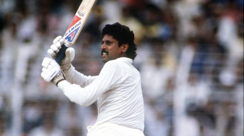 Kapil Dev smashed 72* off just 58 balls to help India reach 252/7 from 50 overs