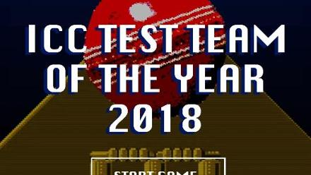 ICC Test Team of the Year 2018