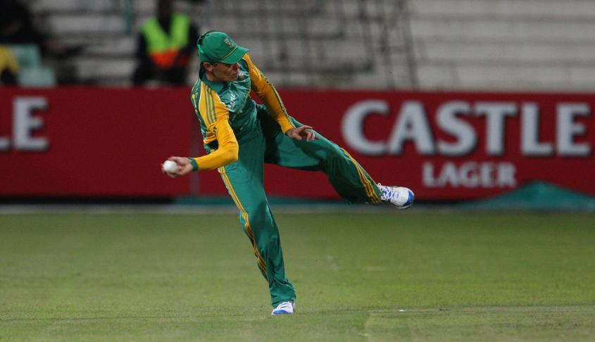Johan Botha's fine fielding made him a valuable asset
