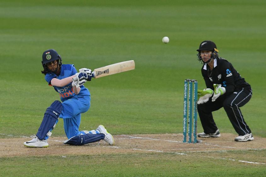 Jemimah Rodrigues scored her maiden ODI half-century