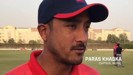 Nepal captain Paras Khadka: 'This is just the beginning'