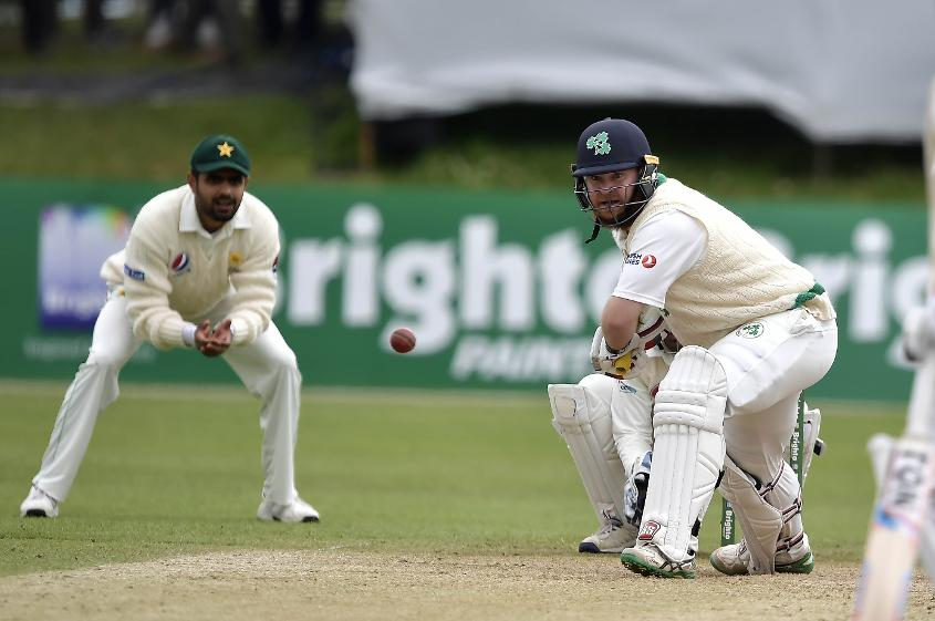 Stirling (right) has represented Ireland in one Test, 100 ODIs and 52 T20Is