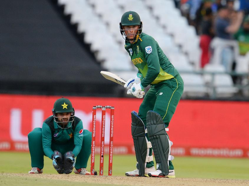 Van der Dussen averaged 120.50 in his side's 3-2 ODI series victory over Pakistan in January