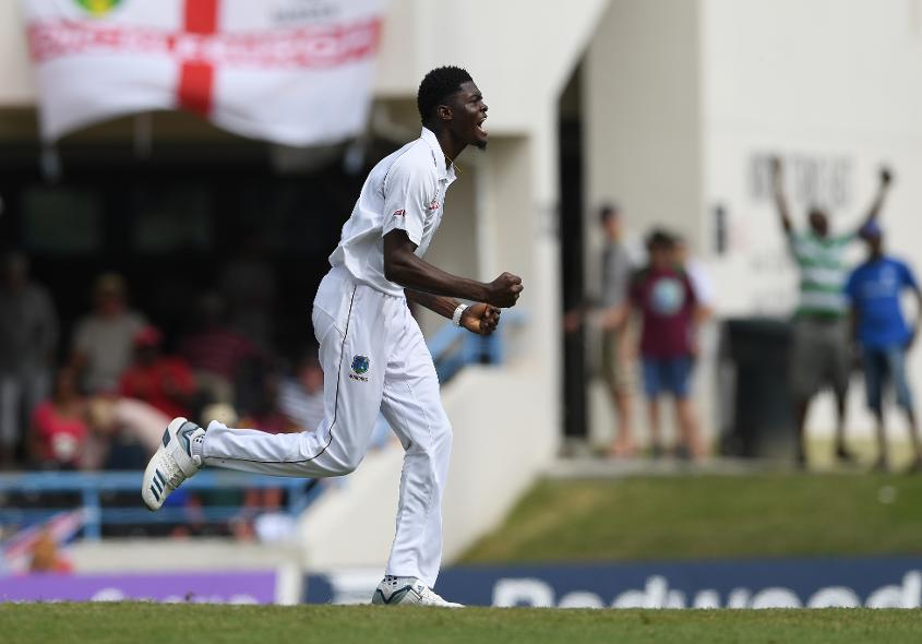 Alzarri Joseph is still recovering from the shoulder injury he picked up before the World Cup