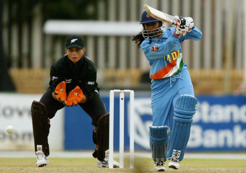 Mithali Raj played a captain's knock against New Zealand in the semi-final of the 2005 World Cup