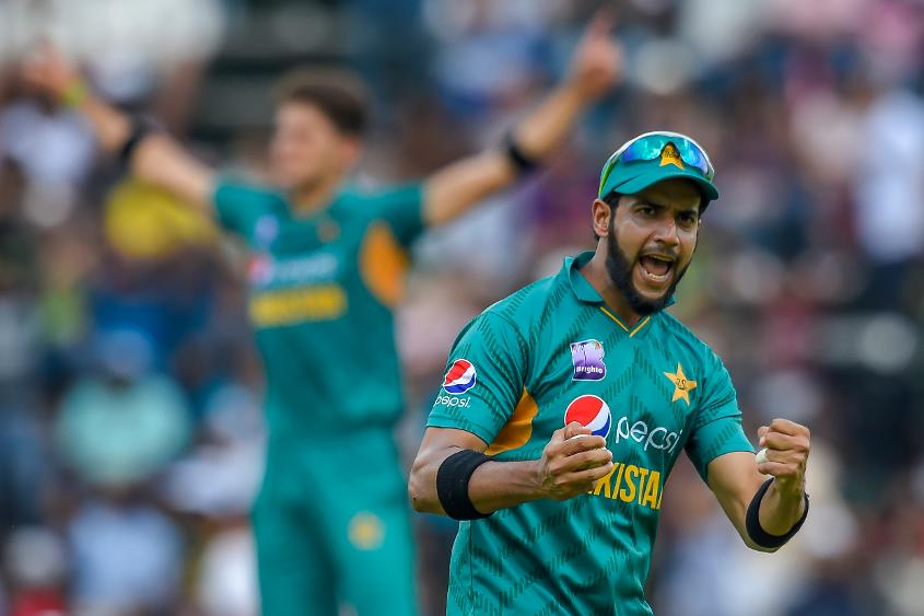 Imad Wasim bowled an economical spell